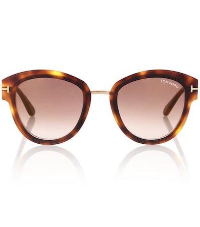 Mia round sunglasses