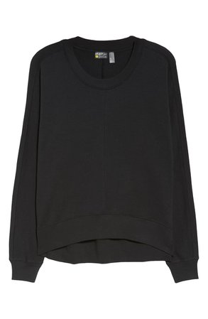 Zella Carey Crew High/Low Sweatshirt | Nordstrom