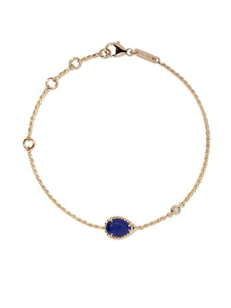 Boucheron Bracelet Serpent Bohème XS En Or 18ct Orné De Diamants Et Lapis Lazuli - Farfetch