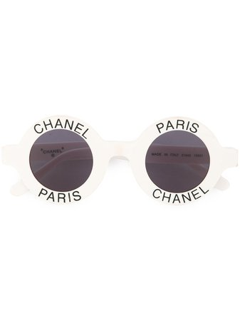 Chanel Pre-Owned CC logos sunglasses eye wear £7,959 - Shop Online - Fast Delivery, Free Returns