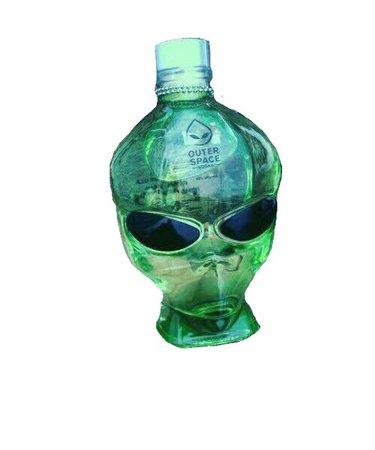 green alien space filler png