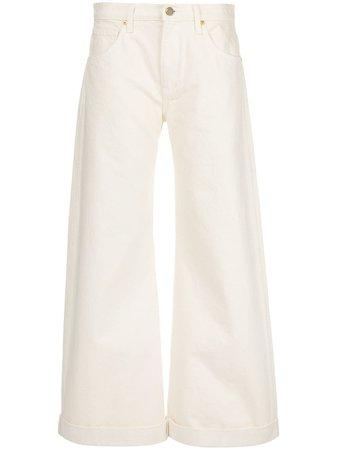 Khaite Noelle mid-rise wide-leg Jeans - Farfetch