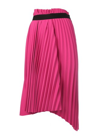 Balenciaga Elastic Technical Crepe Skirt
