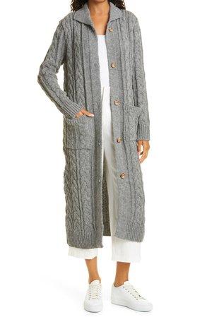 Berriex Long Wool Cardigan   Nordstrom