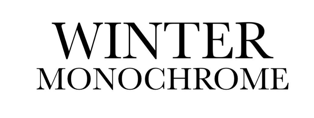 winter monochrome text (by alldressedupbutnowheretogo)