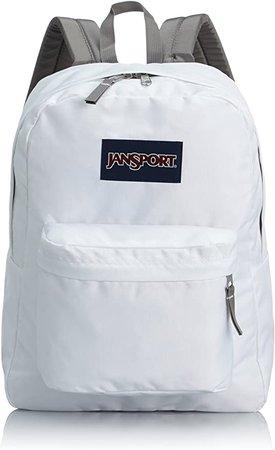 Amazon.com: Jansport Superbreak Backpack (White): Clothing