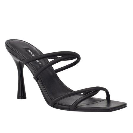 Fabiola Square-Toe Slide Sandals - Nine West