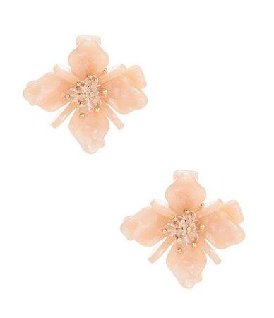 blush floral enamel earrings & necklaces statements sets - Google Search