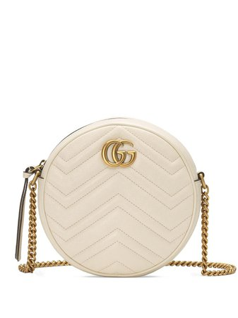 Gucci GG Marmont Mini Round Shoulder Bag - Farfetch
