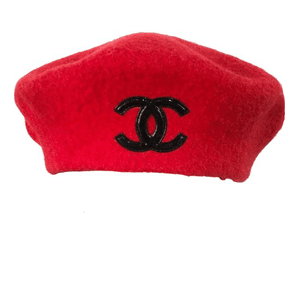 red beret hat chanel png