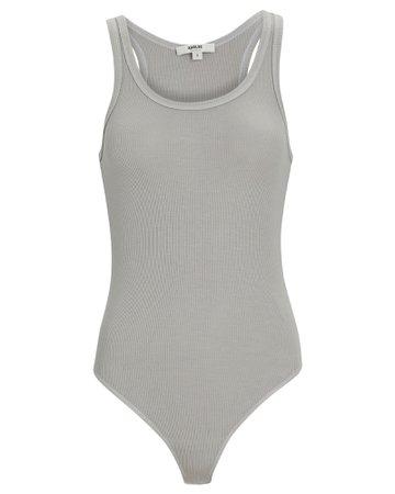 AGOLDE Rib Knit Tank Bodysuit | INTERMIX®
