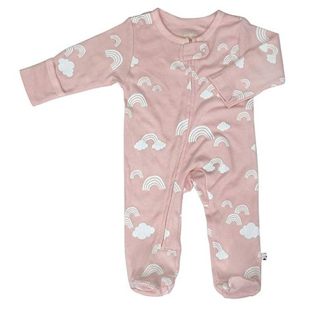 Amazon.com: Babysoy Infant Baby Zipper Footie Coveralls (Newborn Sleeper Pajamas): Clothing