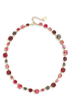 Stella + Ruby Crystal Collar Necklace | Nordstrom