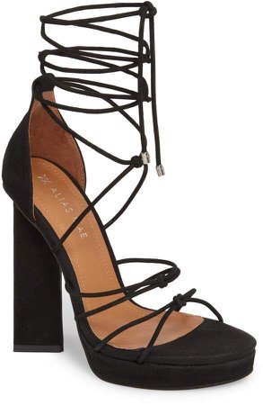 Mae ALIAS Bordega Ankle Wrap Sandal