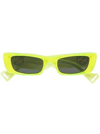 Gucci Eyewear GG rectangular-frame Sunglasses - Farfetch