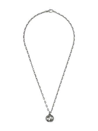 Gucci Interlocking G Pendant Necklace - Farfetch