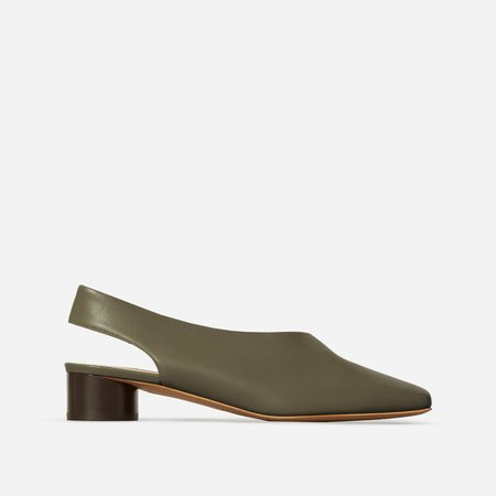 The Square Toe Slingback