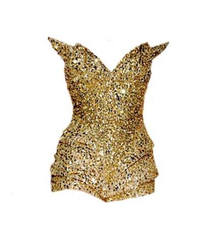 Gold Bodysuit