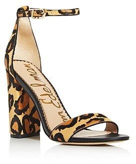 Women's Yaro Animal Print High-Heel Sandals