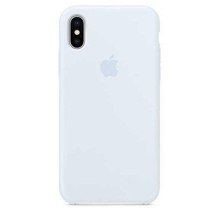 iPhoneX-szilikontok – égkék - Apple (HU)