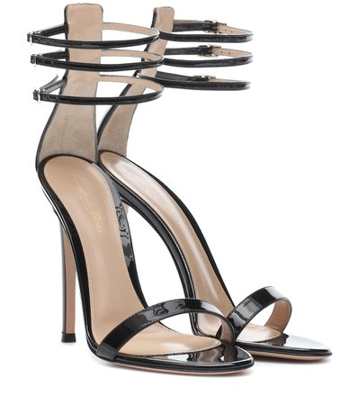 Patent Leather Sandals | Gianvito Rossi - mytheresa