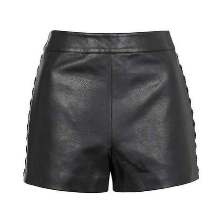 Whipstitch PU Short