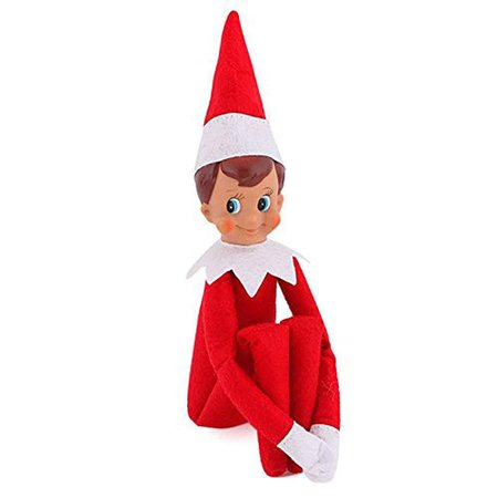DressLily.com: Photo Gallery - Christmas Elf Gift Decoration for House Red Boy Plush Doll Toy