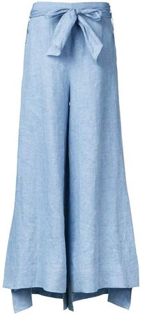 Demoo Parkchoonmoo belted flared trousers