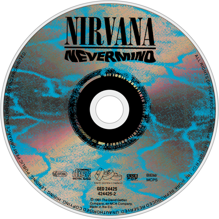 HD Nirvana Nevermind , Png Download - Nirvana Nevermind Tidal Transparent PNG Image Download - Trzcacak