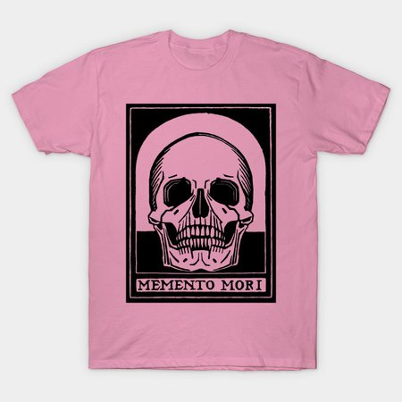 "Memento Mori - ""Remember Death"" - Death - T-Shirt | TeePublic"