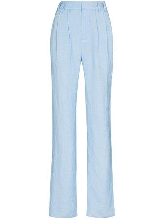 Danielle Guizio Classic wide-leg Trousers - Farfetch