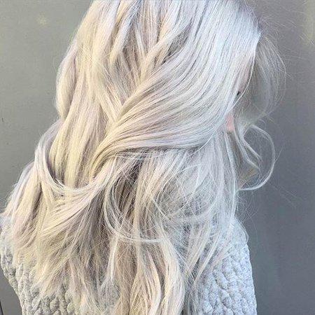 Snow White Hair