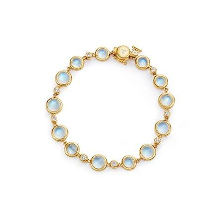 18K Full Moon Bracelet – Temple St. Clair