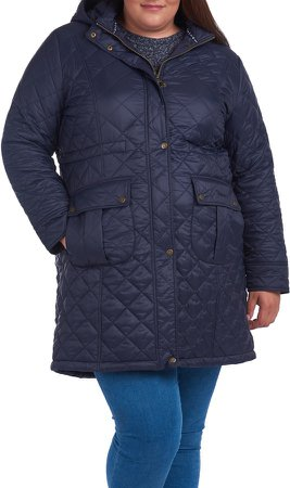 Jenkins Quilted Hooded Coat