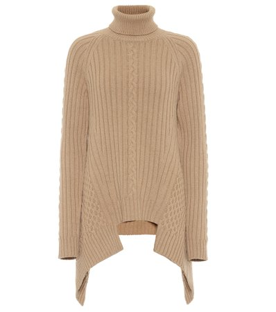 Alexander McQueen - Wool and cashmere sweater | Mytheresa