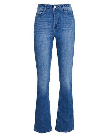 L'Agence Oriana Straight-Leg Jeans | INTERMIX®