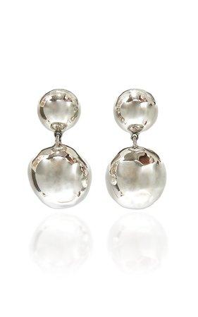Medici Sterling Silver Earrings by Sophie Buhai | Moda Operandi