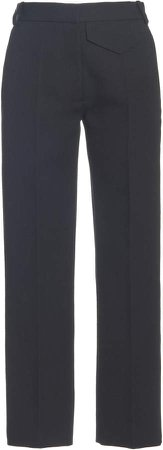 Victoria Beckham Penelope Wool Straight-Leg Trousers