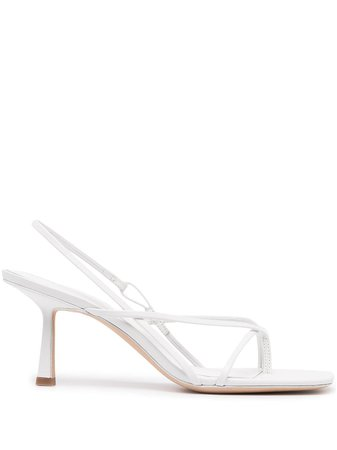 Studio Amelia Flip Flop 75 Heel Sandals - Farfetch