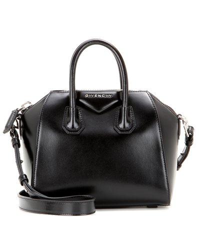 Antigona Mini Leather Shoulder Bag | Givenchy - Mytheresa
