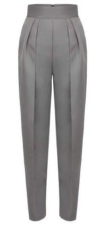 Maticevski Social Pleated Straight-Leg Pants