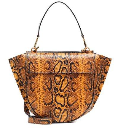 Hortensia Medium leather shoulder bag
