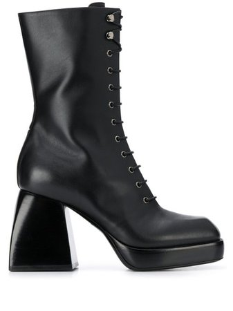 Nodaleto lace-up High Heel Boots - Farfetch