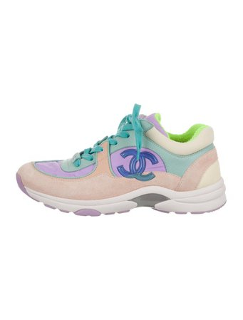 Chanel CC Low-Top Sneakers - Shoes - CHA383439   The RealReal