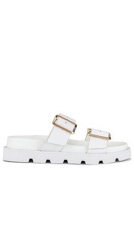 RAYE Clifton Sandal in White | REVOLVE