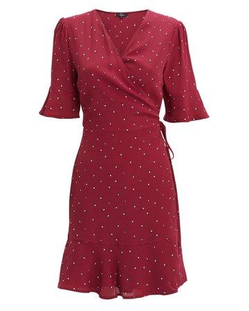 Aimee Rouge Polka Dot Dress