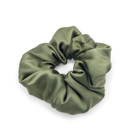 olive scrunchie