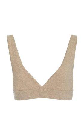Cappucinne Cashmere Bralette Top By Lisa Yang | Moda Operandi