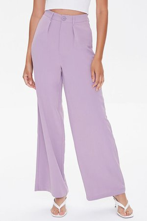 Wide-Leg High-Rise Pants