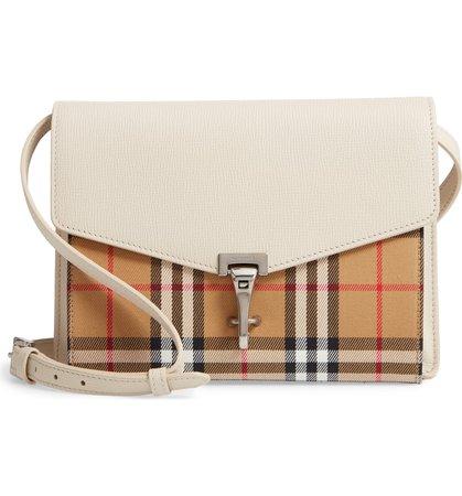 Burberry Small Macken Vintage Check Crossbody Bag   Nordstrom